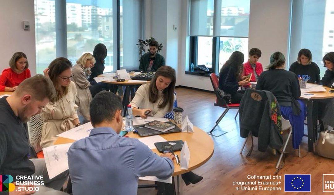 Iată ideile selectate în acceleratorul Creative Business Studio – București!